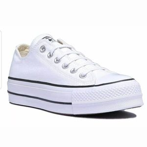 Converse Low Top Lift White Black Women's Sneaker